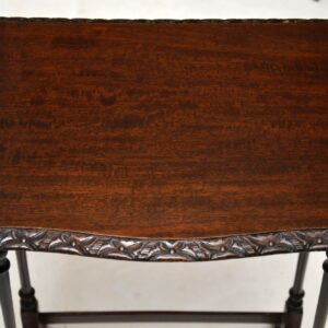 Antique Mahogany Nest of Tables