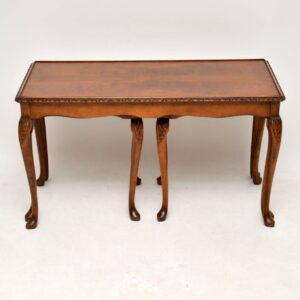 Antique Mahogany Nesting Coffee Table