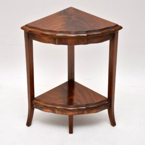 Antique Mahogany Coffee Table Nest Combination