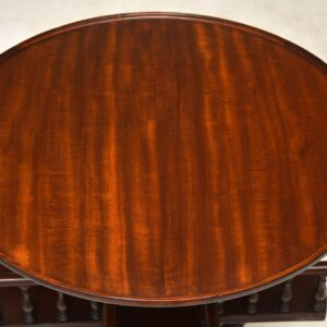 Antique Victorian Style Mahogany Occasional Table