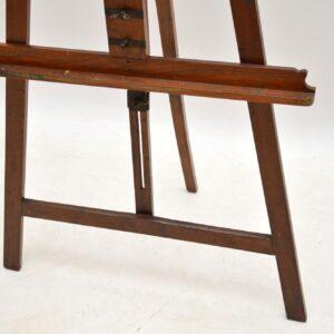 Antique Victorian Mahogany Easel