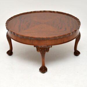Antique Mahogany Pie Crust Coffee Table