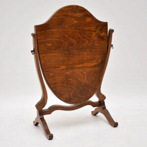 Antique Mahogany Table Top Dressing Mirror