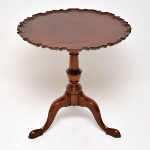 Antique Georgian Style Mahogany Tilt Top Table
