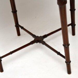Antique Mahogany Two Tier Table