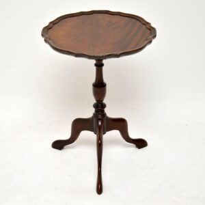 Antique Georgian Style Mahogany Wine Table