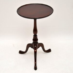 Small Antique Mahogany Wine Table