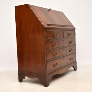 Antique Georgian Style Mahogany Writing Bureau