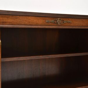 Antique NeoClassical Style Mahogany Open Bookcase