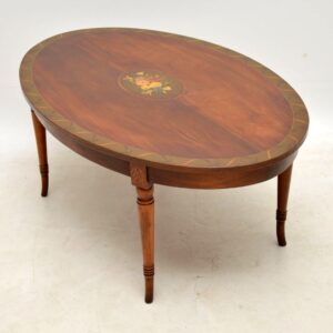 Antique Painted Mahogany Coffee Table