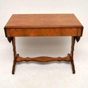 Antique Burr Walnut Sofa Table