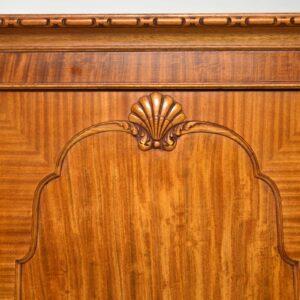 Antique Satin Wood Wardrobe by Hille