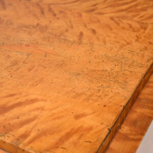 Antique Swedish Biedermeier Satin Birch Chest of Drawers