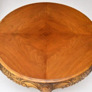 Antique Swedish Satin Birch Coffee Table