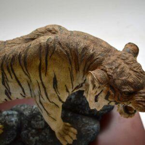 Antique Decorative Tiger Sculpture