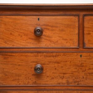 Large Antique William IV Mahogany Chest of Drawers