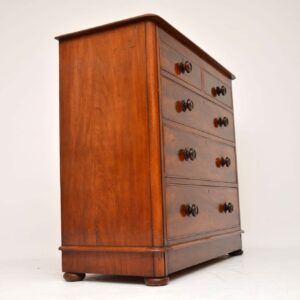 Antique Victorian Mahogany Chest of Drawers
