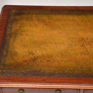 Antique William IV Mahogany Writing Table / Desk