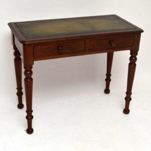 Antique Victorian Mahogany Writing Table