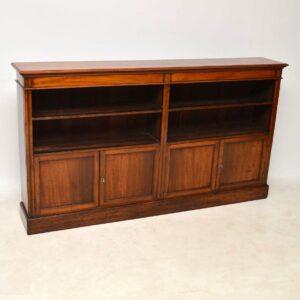 Antique Victorian Mahogany Bookcase