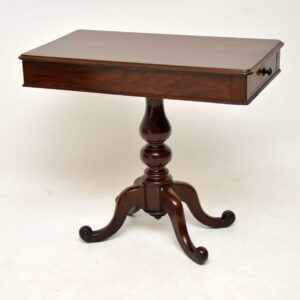 Antique Victorian Mahogany Side / Console Table