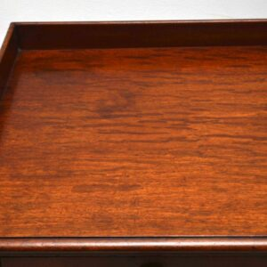 Antique Early Victorian Mahogany Writing Table Desk