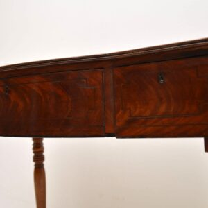 Antique Mahogany Console Table or Desk