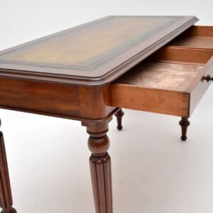 Antique Victorian Mahogany Writing Table