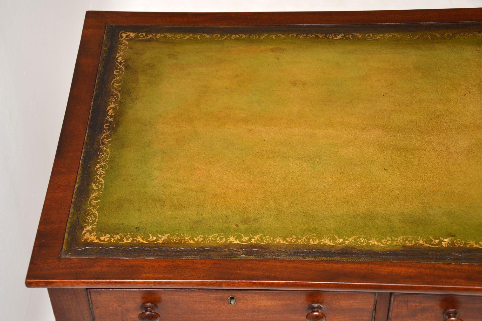 Antique Georgian Mahogany Writing Table