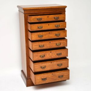 Antique Victorian Oak Chest of Drawers