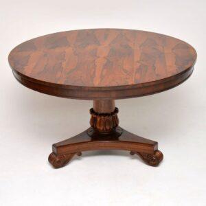Antique William IV Rosewood Dining Table