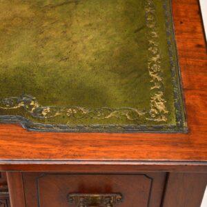 Small Antique Victorian Walnut Writing Desk
