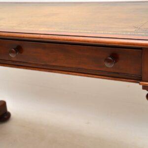 Antique William IV Mahogany Writing Table