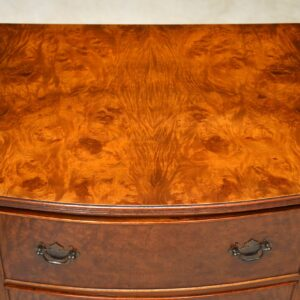 Antique Walnut Low Chest of Drawers