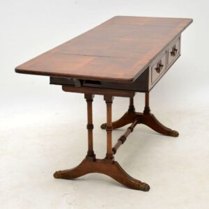 Antique Walnut Drop Leaf Coffee Table