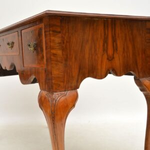 Antique Burr Walnut Desk / Writing Table