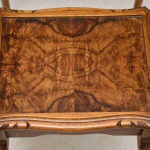 Antique Burr Walnut Nest of Tables