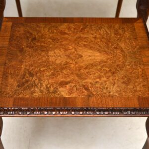 Antique Walnut Nest of Tables