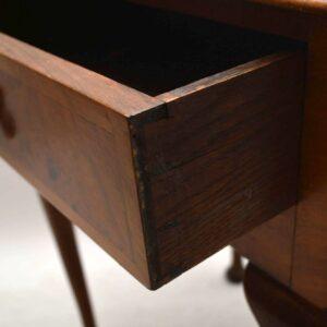 Antique Burr Walnut Side Table