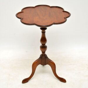 Antique Walnut Wine Table