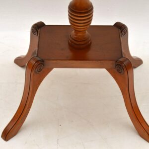 Antique Regency Style Yew Wood Coffee / Side Table