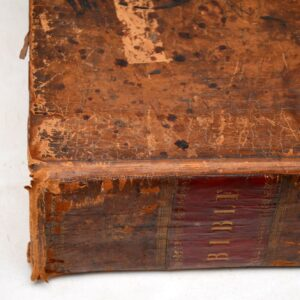 Set of Three Very Large Antique Holy Bibles 1778 , 1813 & 1844