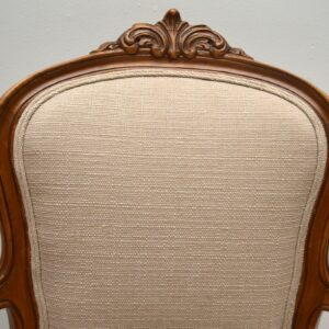 Pair of Antique French Salon Armchairs