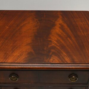 Pair of Antique Georgian Style Mahogany Chests