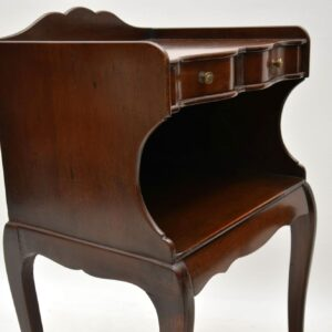 Pair of Antique Mahogany Bedside Cabinets / Side Tables