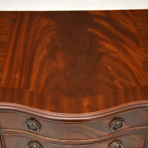 Pair of Antique Georgian Style Mahogany Bedside Chests
