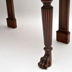 Pair of Antique Mahogany Console Side Tables