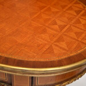 Pair of Antique French Inlaid Side Tables