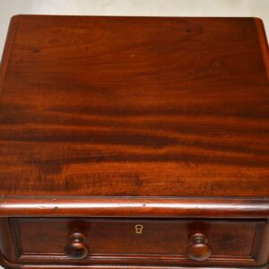 Pair of Antique Victorian Mahogany Bedside Chests