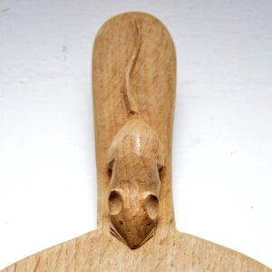 Vintage Carved Oak Cheeseboard by Robert 'Mouseman' Thompson